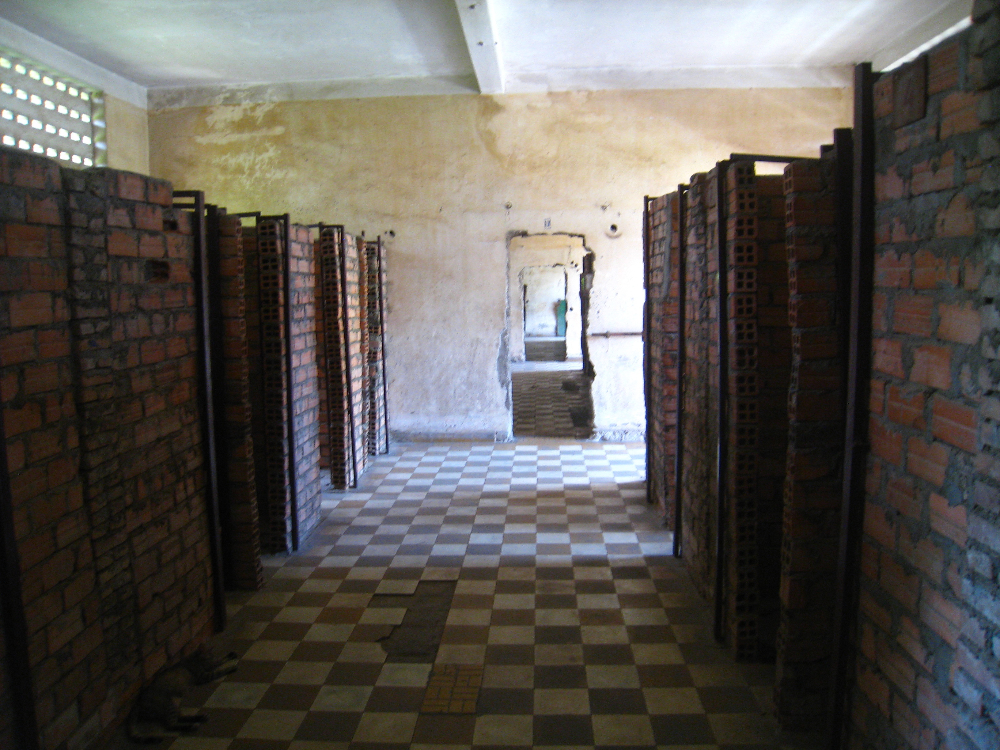 Inside the torture chambers
