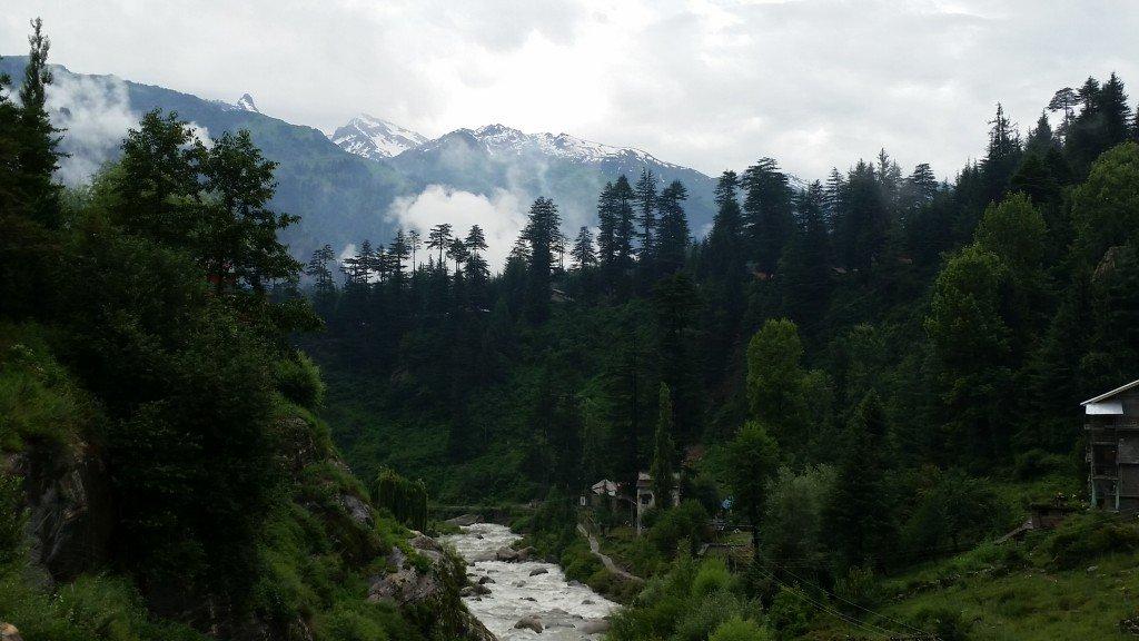 Manali's Lush Landscape