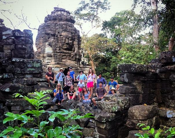 Explore ruins in Banteay Chhmar