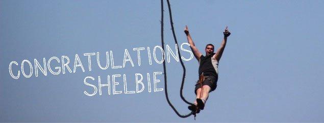 Congratulations Shelbie!