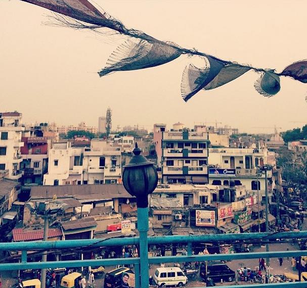 Overlooking Delhi