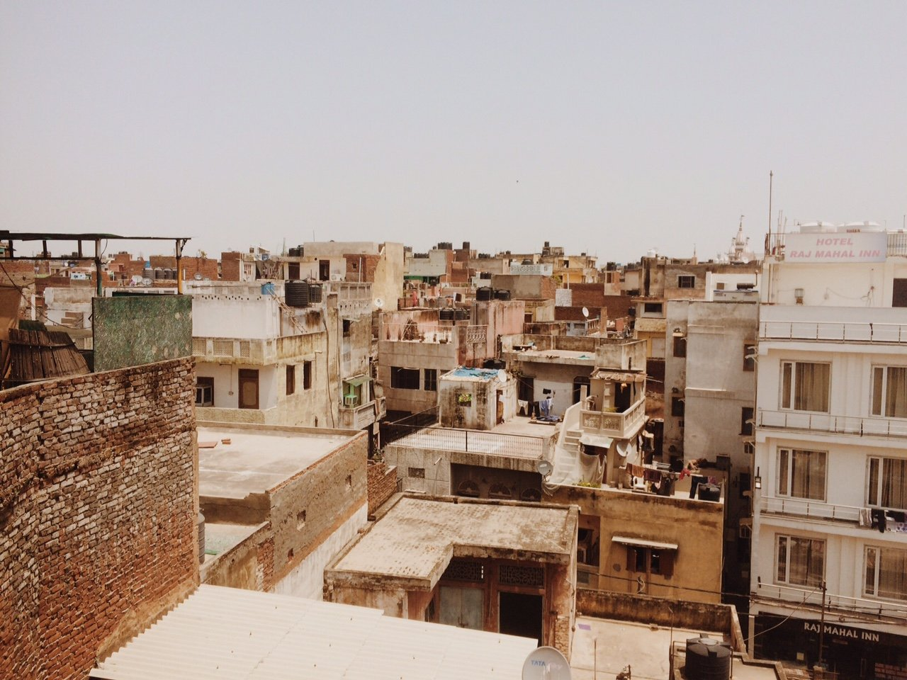 Rooftops of Delhi