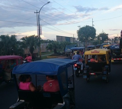 Lima traffic