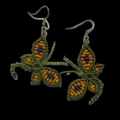 butterfly earings 1