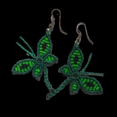 butterfly earings 2
