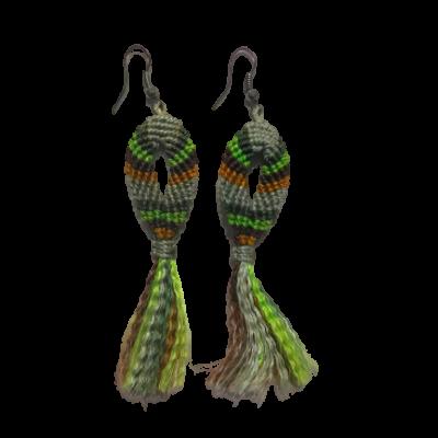 ribbon earings 1