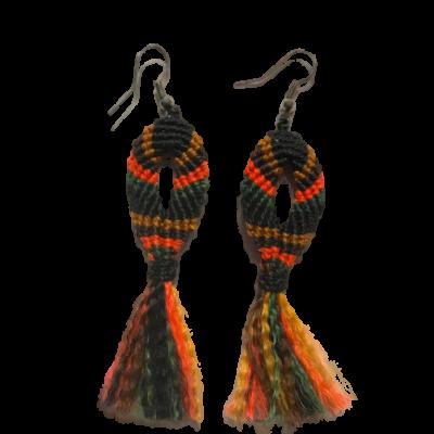 ribbon earings 3