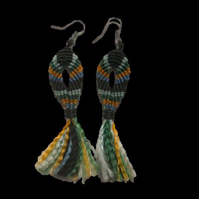 ribbon earings 4