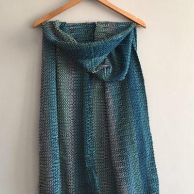 Juana shawl blue 1