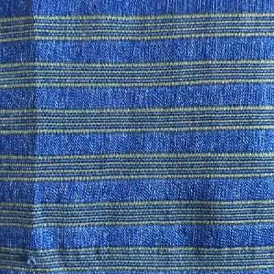 Yabal scarf blue-green detail